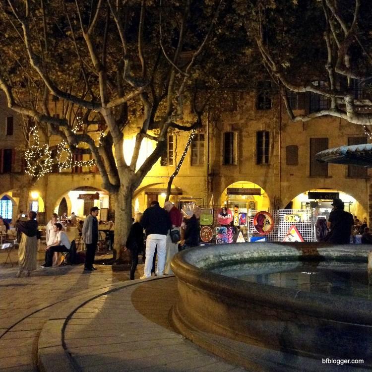 The Place des Herbes Uzes France