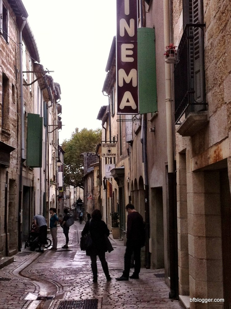 Cinema in Uzes, France