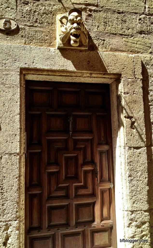 Doorway in Pezenas