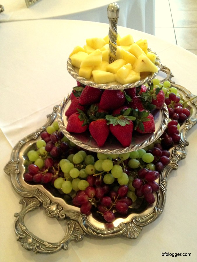 "Fruit Tray for ""Southern"" Baby Shower, Douglasville, Georgia, USA"