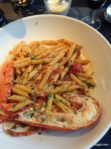 Lobster with Penne Pasta in Nice, France