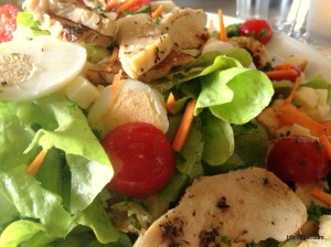Greens and Chicken Salad, Roussillon, France