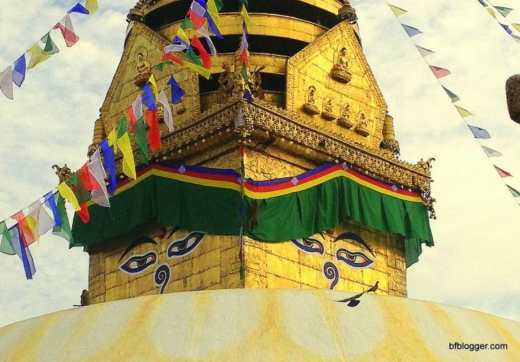 Stupa at Monkey Temple