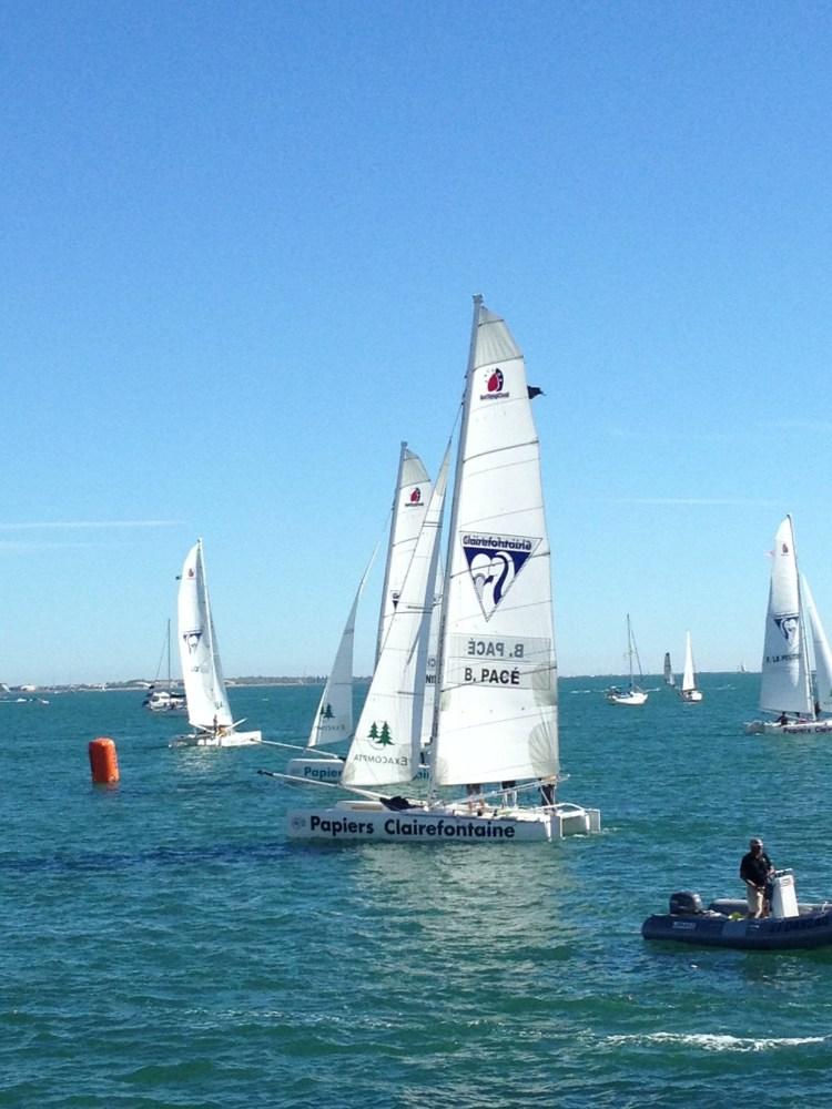 Sailing regatta at La Grande-Motte