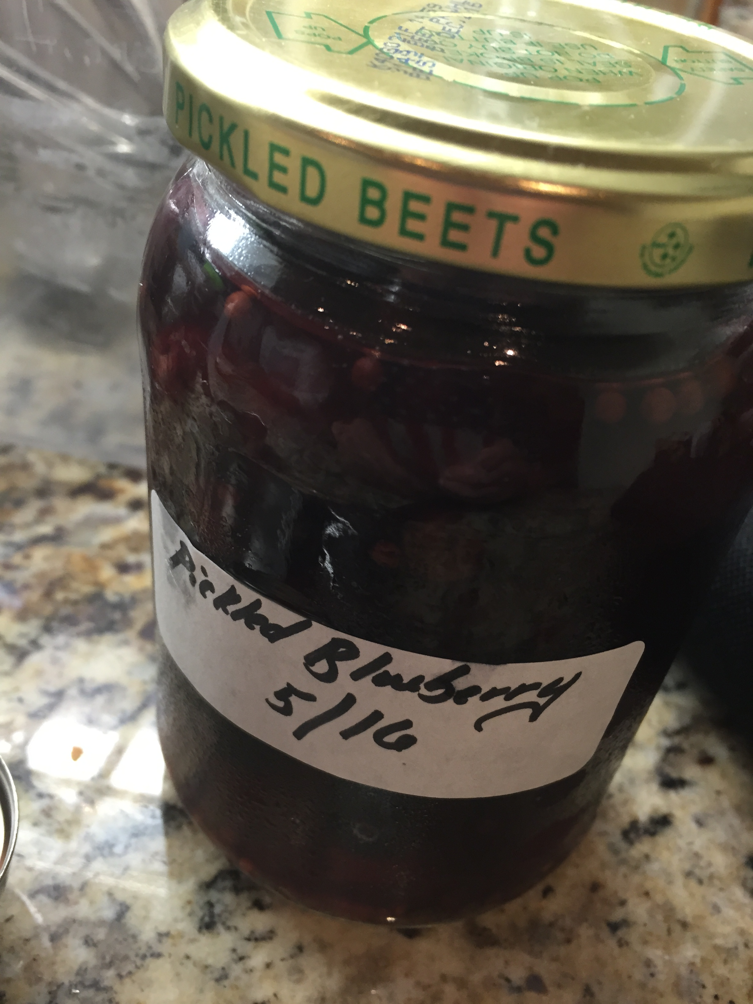 Pickled Blueberry