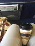 Khaki traveling pants