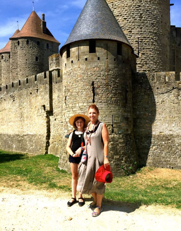 A tour inside the walled city of Carcassonne