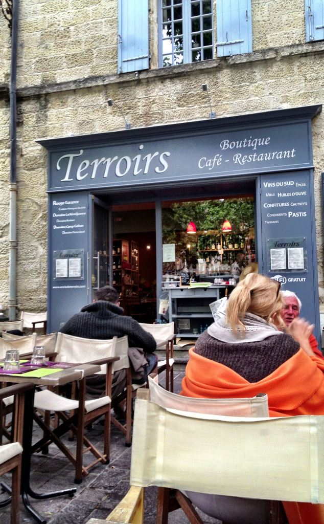 Terroirs Restaurant on the Place aux Herbes