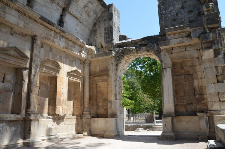 The so-called Temple of Diana, part of an Augusteum, Nîmes © Carole Raddato