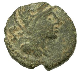 Coin of Nemausus circa 40 BC