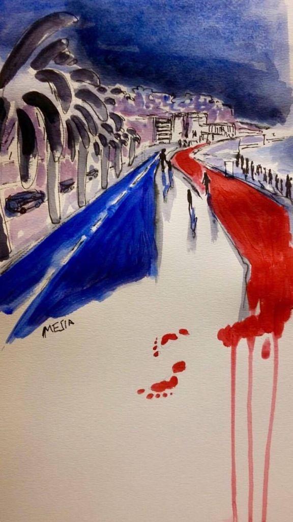 Prayers for Nice. Prayers for France. Prayers for the World.