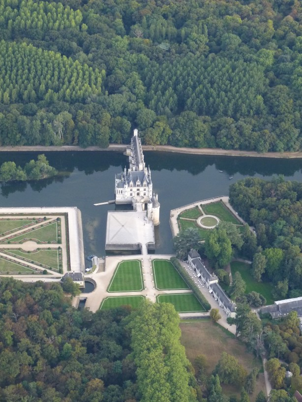 Visiting Chenonceau