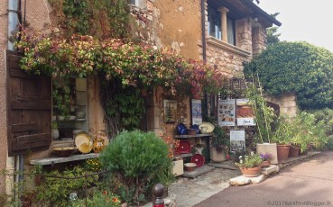 Small shop in the Luberon France