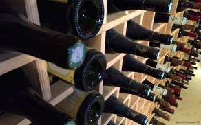 Wine cellar at Mas d'Augustine