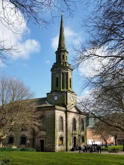 St Paul's Church, Jewellery Quarter.