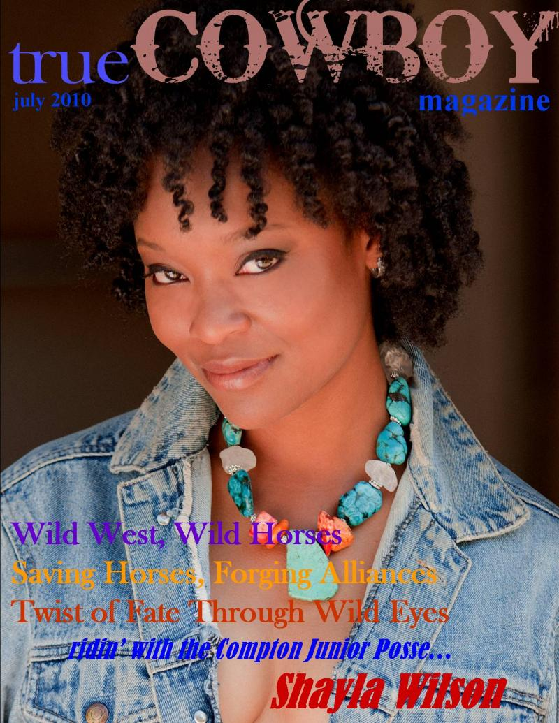 Shayla Wilson  True Cowboy Magazine  Black Female Equestrians