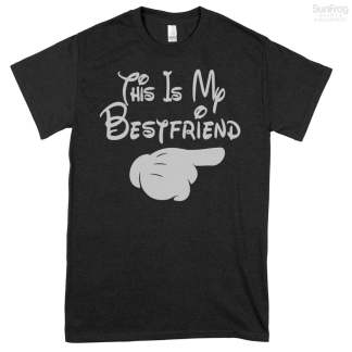 This Is My Bestfriend Pointing Right T-Shirt