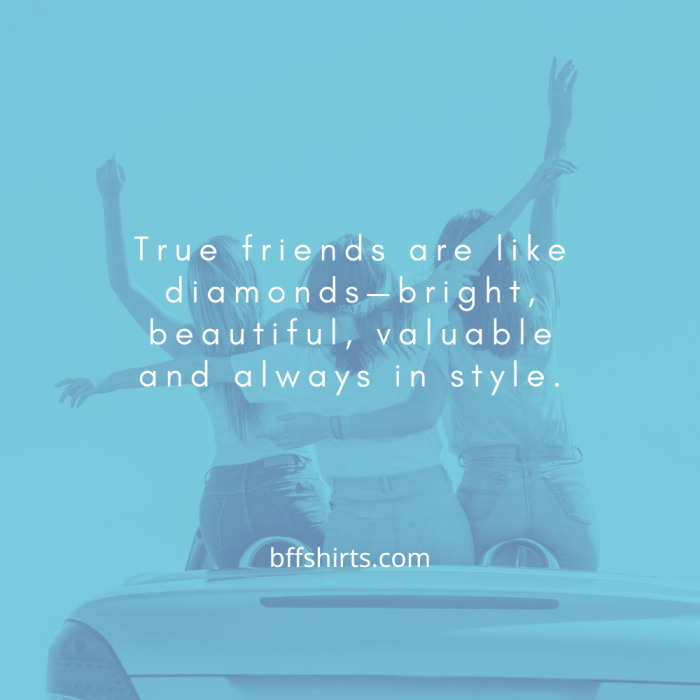 Female Friendship Quotes - Bff Shirts