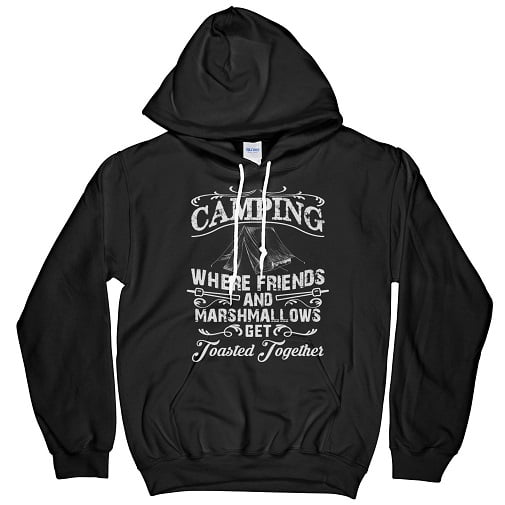 Camping With Friends Shirts Hoodie