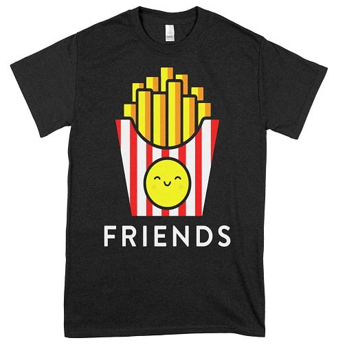 Burger Fries Best Friend Hoodies For 2 - best friend t shirts for 2
