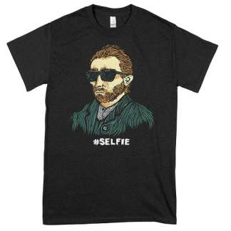 Van Gogh Selfie T-Shirt