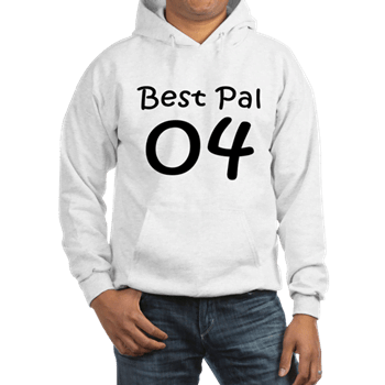 Bff Shirts For 3 - Best pal 04 Hoodie