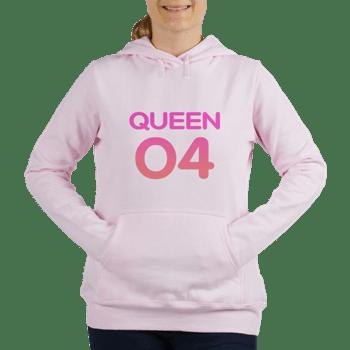 Pink Queen 04 Pink Hoodie