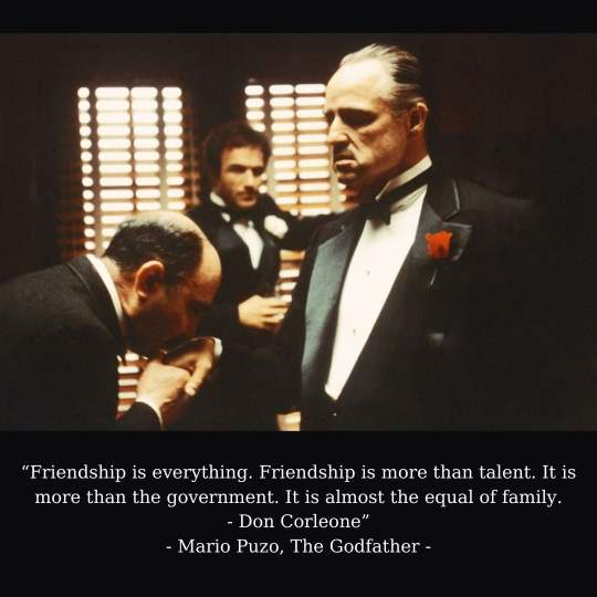 The Godfather Captions For Instagram Pictures