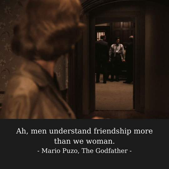 The Godfather Quotes About Friendship For Instagram Captions