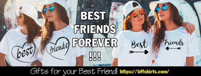 BFF Shirts - Best Friends Forever Shirts Banner