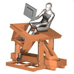 Flight Simulator Chair Motion Ak Rocker Home Built Diy 3 Dof Movement Cockpit Platform 2