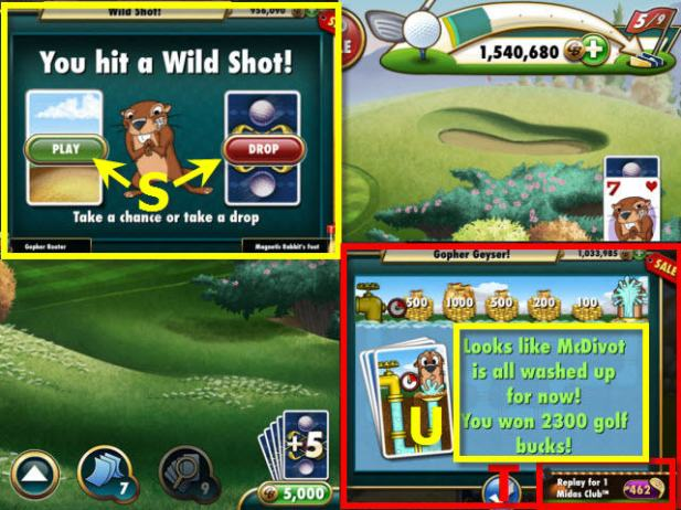 Gopher+Golf+Solitaire