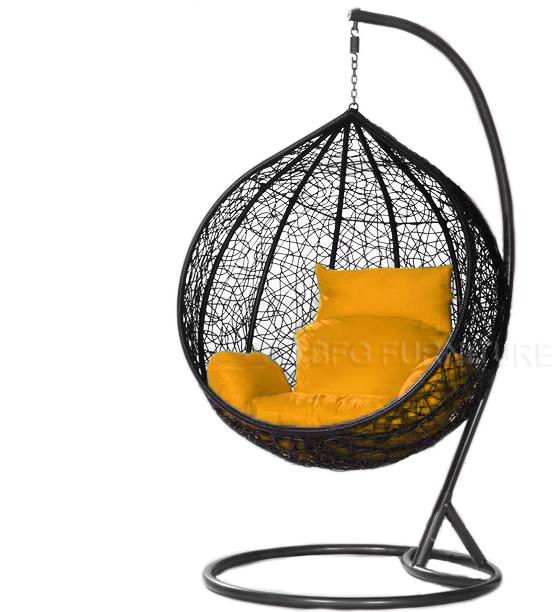 swing chair pics burgundy covers wedding classic orange outdoor furniture bfg