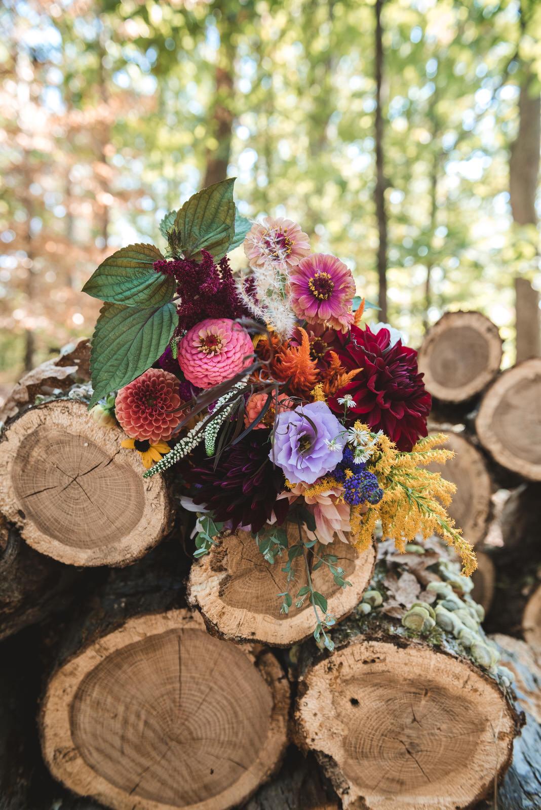 boho-wedding-flower-bouquet