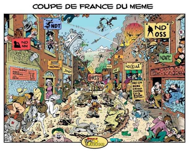 Jules Dorschner présente la Coupe de France de Meme