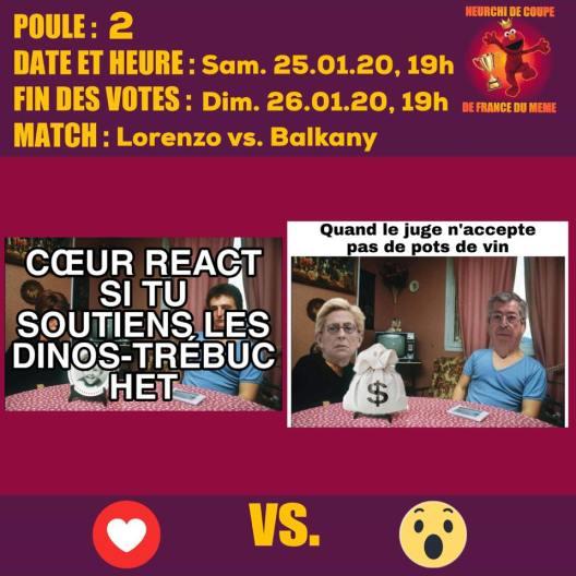Poule B match 2