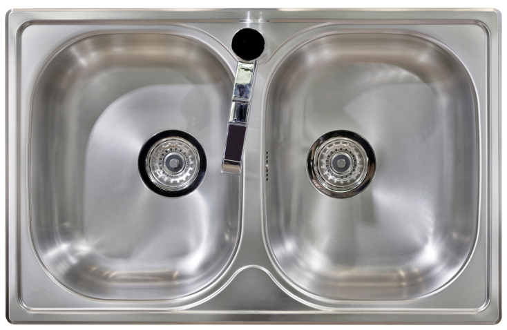 how to clean a smelly kitchen sink