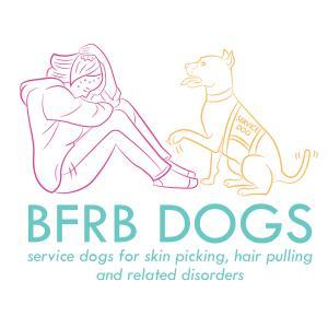 BFRB Service Dogs Logo square