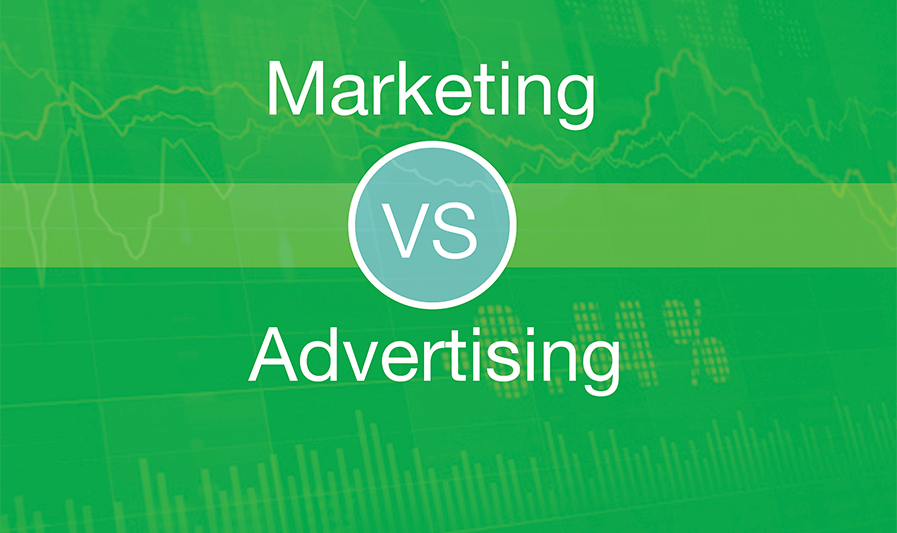 Marketing vs. Advertising, bfresh media production