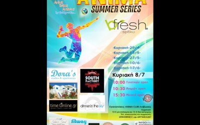 bfresh @ Anima Summer Series – beach volleyball tournament