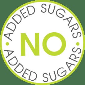 Χωρίς προσθήκη ζάχαρης (περιέχει φυσικά σάκχαρα, με γλυκαντικά φυτικής προέλευσης)