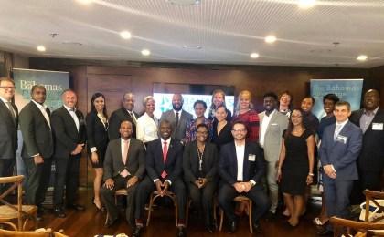 Bahamas delegation at Rio De Janeiro Breakfast Briefing