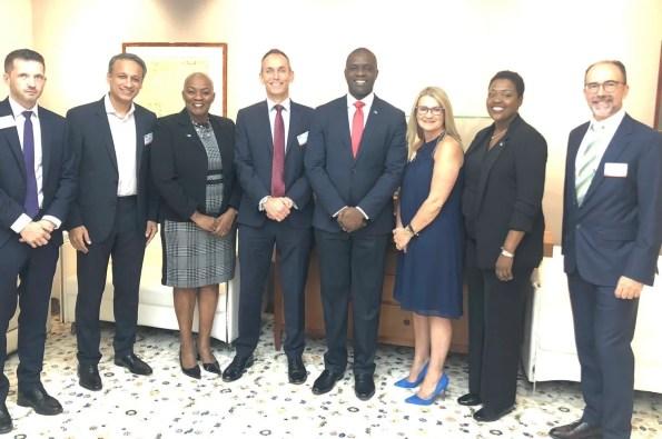Hon. Elsworth Johnson, BFSB Chairman & CEO With STEP Arabia Branch Members