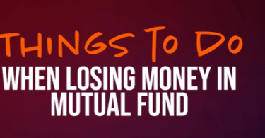 8 Things to Do When Losing Money in Mutual Funds