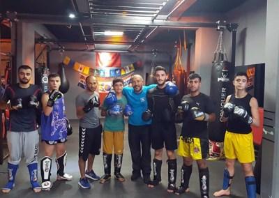 Formation des boxeurs d'Ankara en Turquie