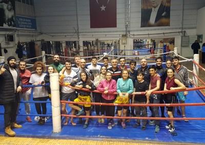 kick et thaï à Ulus Ankara en Turquie