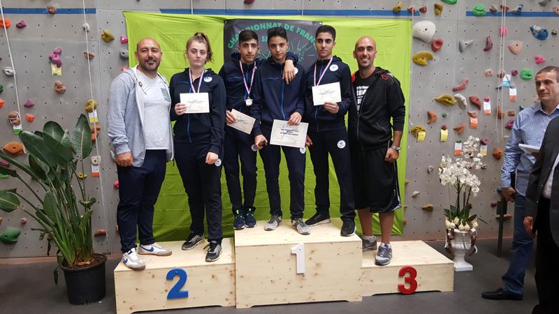 Finale championnat de France jeunes à La Côte Saint André
