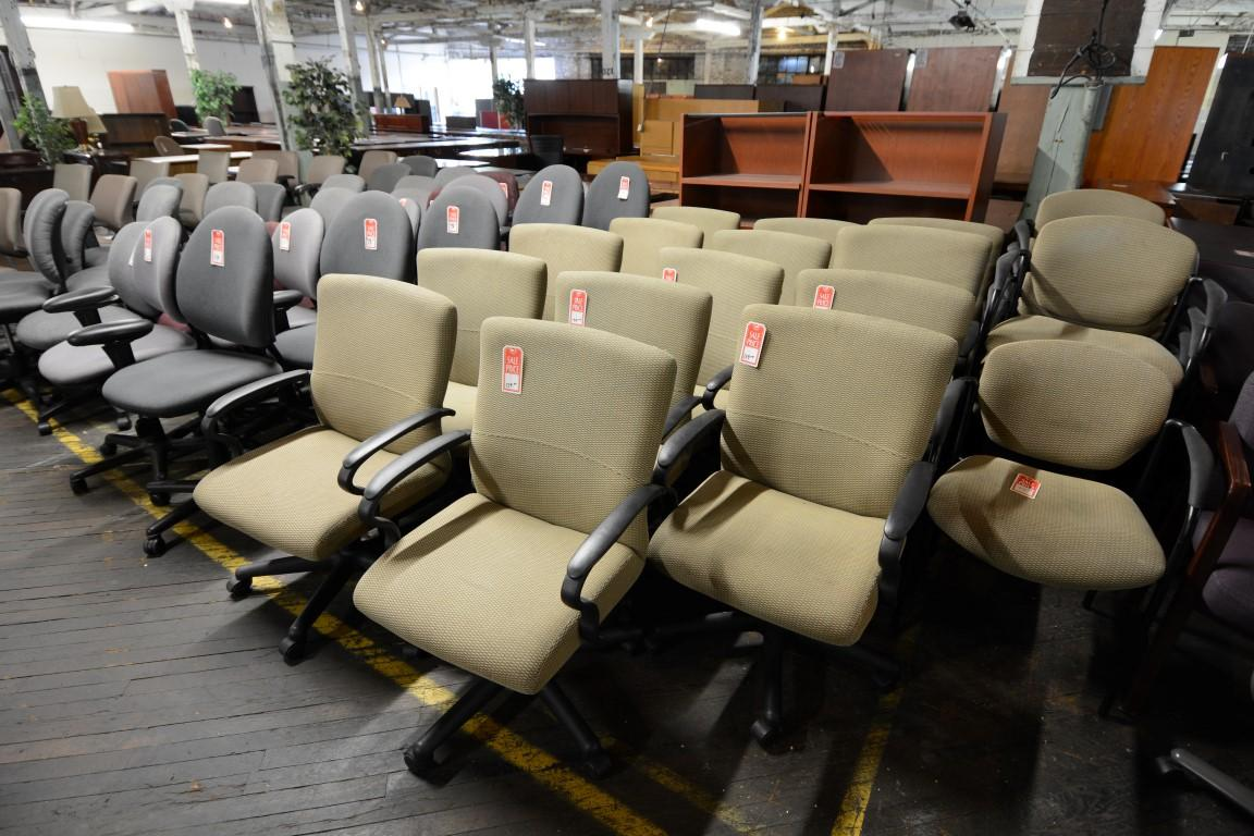 used computer chairs executive revolving chair specifications nashville office furniture