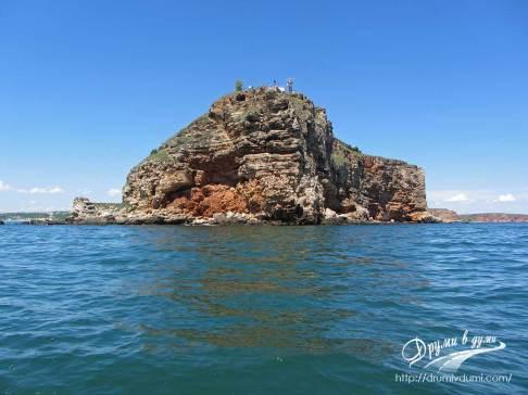 Черноморския бряг погледнат от лодката на капитан Краси