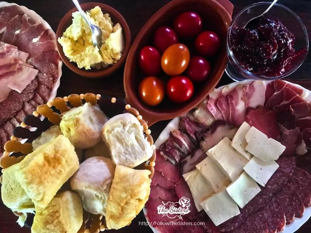 Домашно приготвената храна в Рафтинг център Дрина-Тара